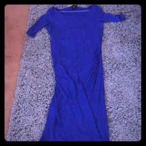 ASOS Cobalt Blue Maternity Dress